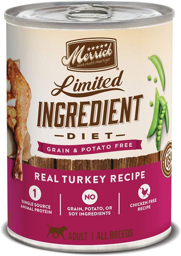 Merrick Limited Ingredient Diet Grain-Free Wet Dog Food