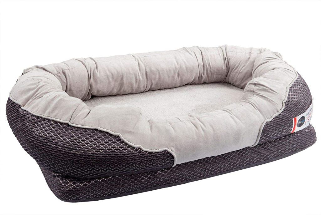 BarksBar Snuggly Sleeper Orthopedic Bed for Large Dogs