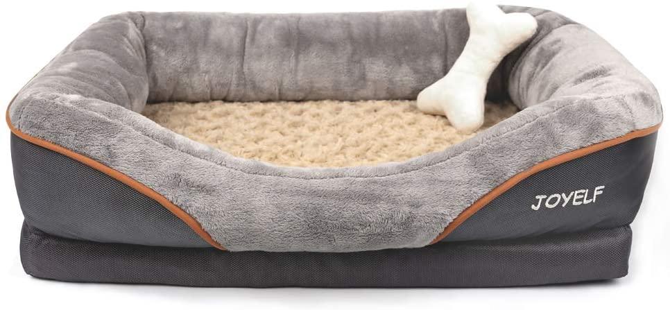 JOYELF Orthopedic Dog Bed for Small Dogs