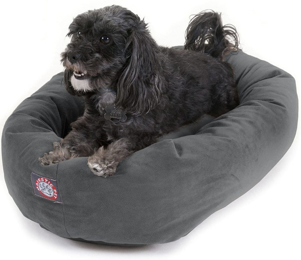 Majestic Pet Products Suede Dog Bed