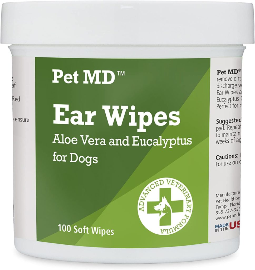 Pet MD Ear Cleaner Wipes