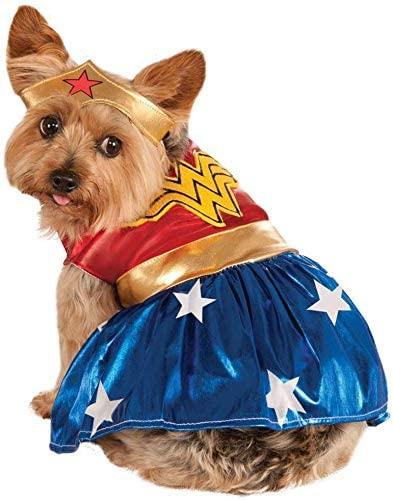 Wonder Woman Dog Halloween Costume