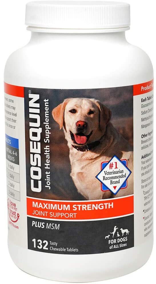 Nutramax Cosequin Maximum Strength with MSM Chewable Joint Supplement