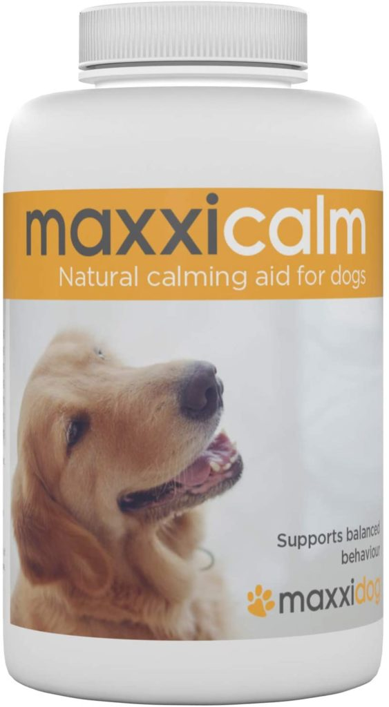 maxxicalm Natural Calming Aid for Dogs