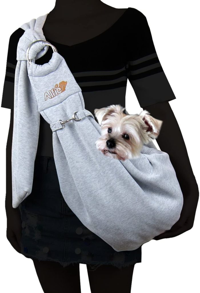 Alfie Pet Chico Reversible Pet Sling Carrier