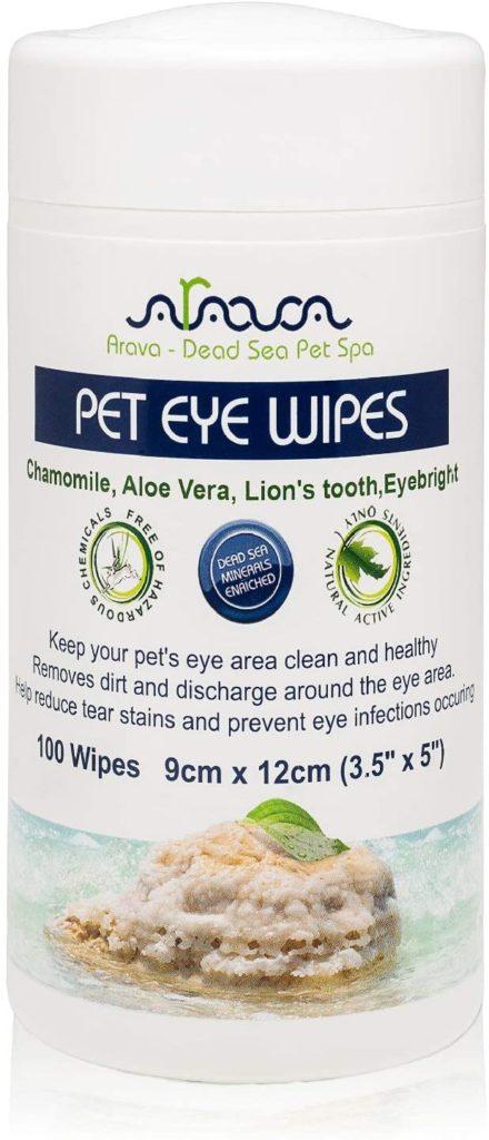 Best dog wipes: Avara Pet Eye Wipes