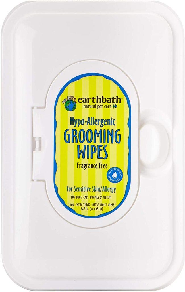 best dog wipes: EarthBath Hypoallergenic Grooming Wipes