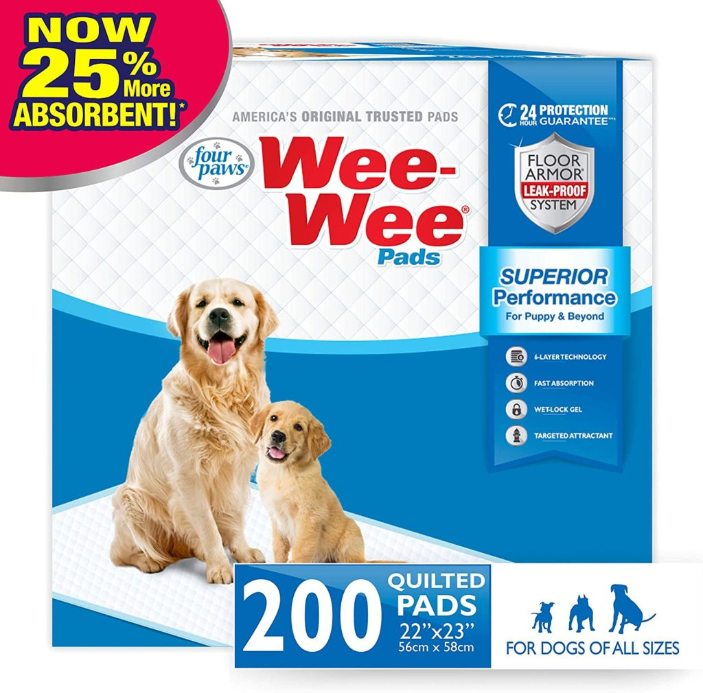 Four Paws Wee Wee Standard Puppy Pads