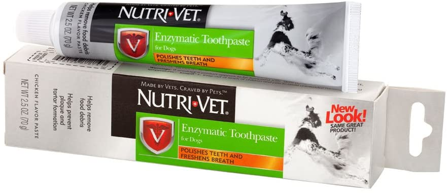 Nutri-Vet Enzymatic Toothpaste for Dogs