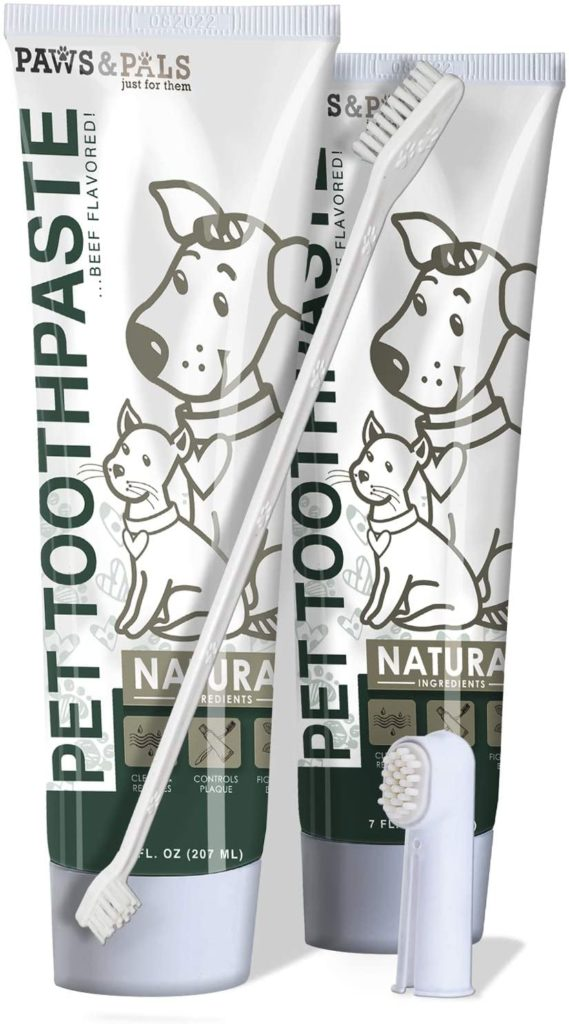 Paws & Pals Pet Dog Toothpaste Dental Care Kit