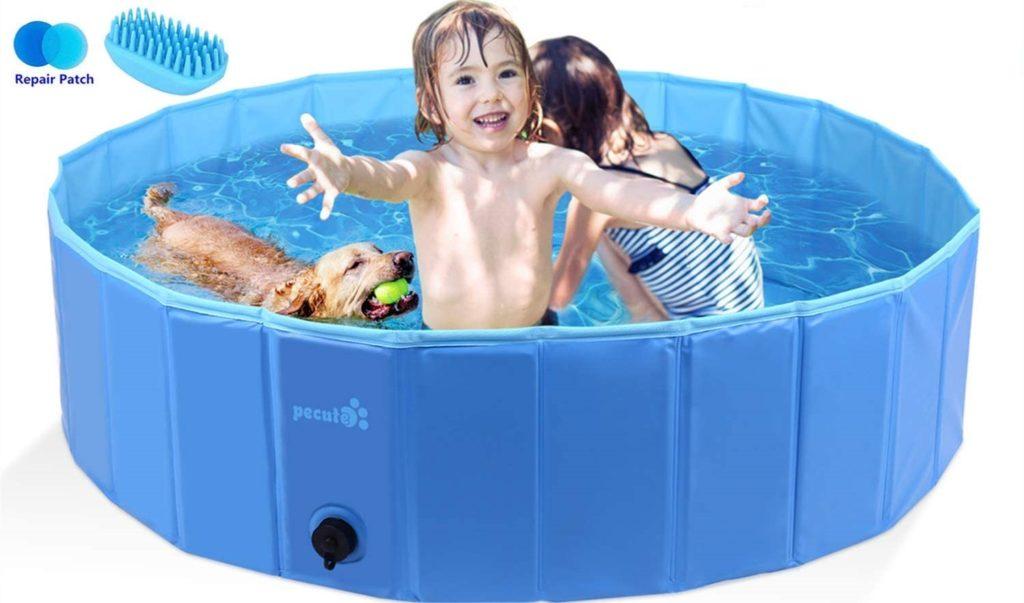 Pecute Foldable Dog Swimming Pool