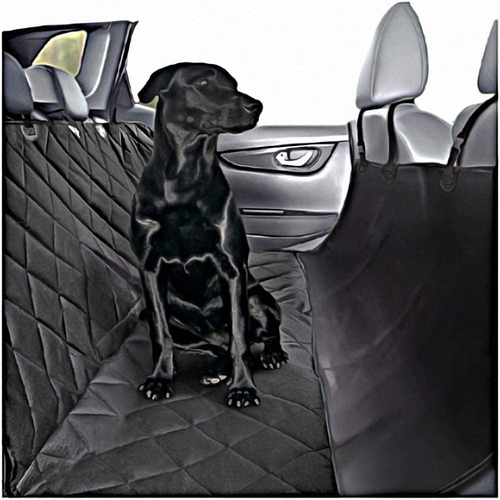 Plush Paw Products Hammock Car Seat Cover with Pet Harness