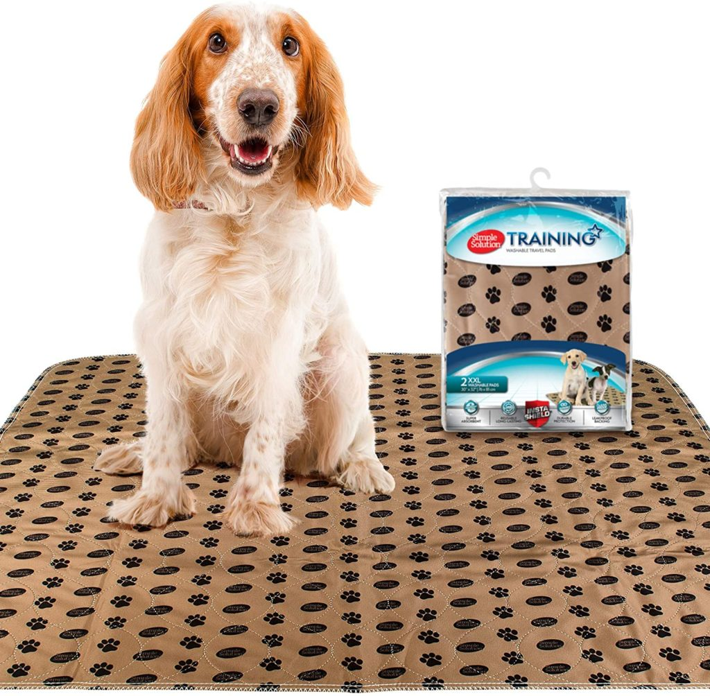 Simple Solution Large Washable Training and Travel Dog and Puppy Pad