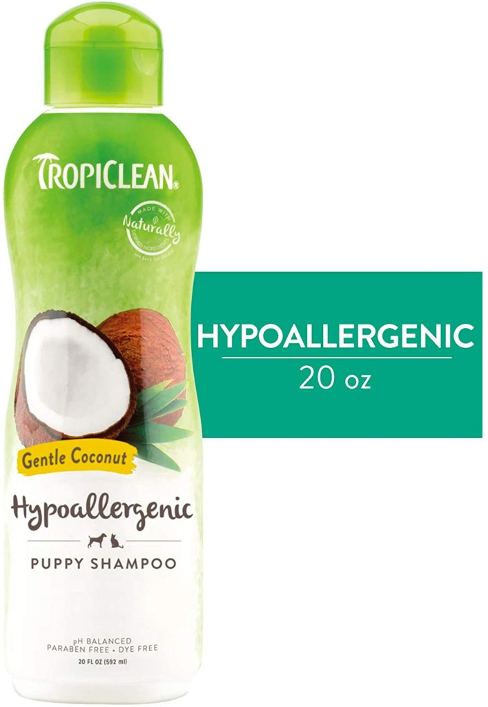 Tropiclean Hypoallergenic Shampoo for Kittens