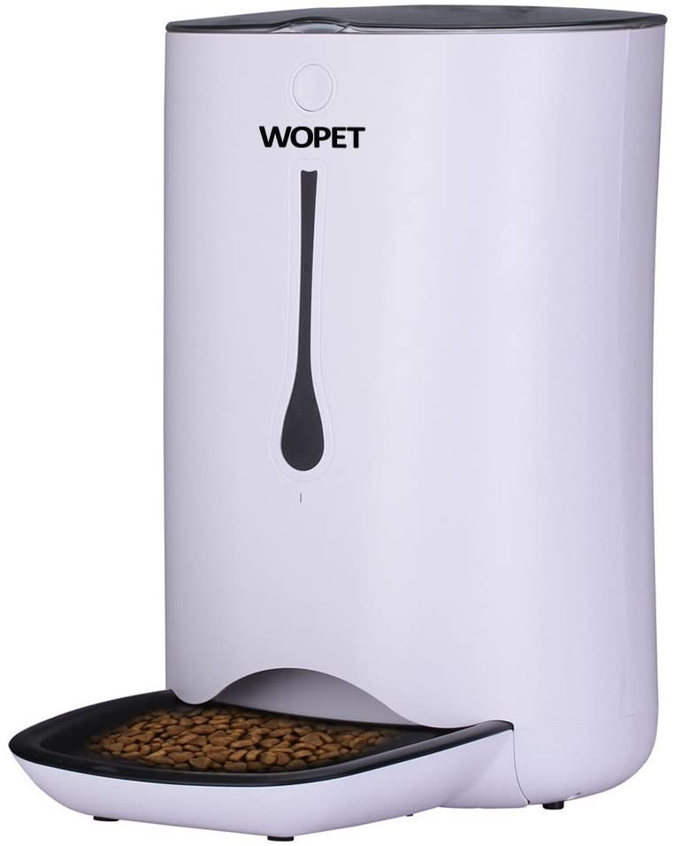 WOPET Automatic Pet Feeder Food Dispenser for Cats and Dogs