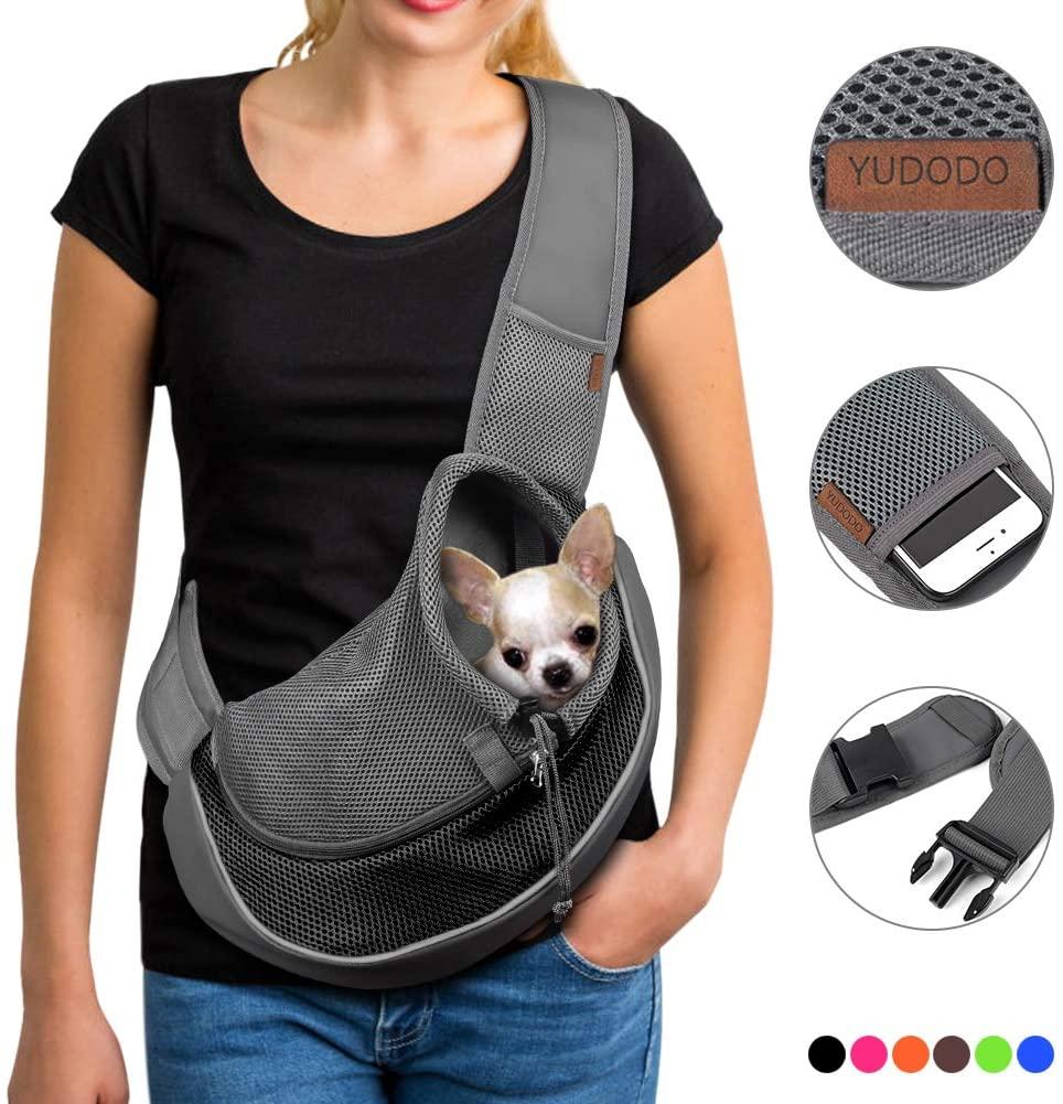 YUDODO Dog Sling Travel Bag
