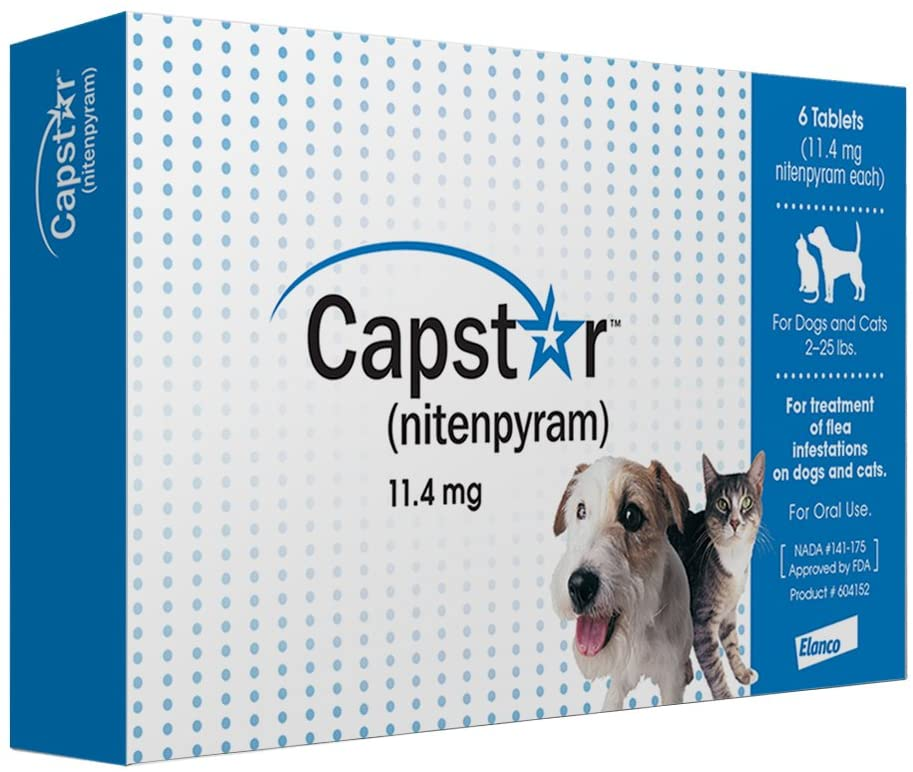 Capstar Oral Flea Tratment for Dogs