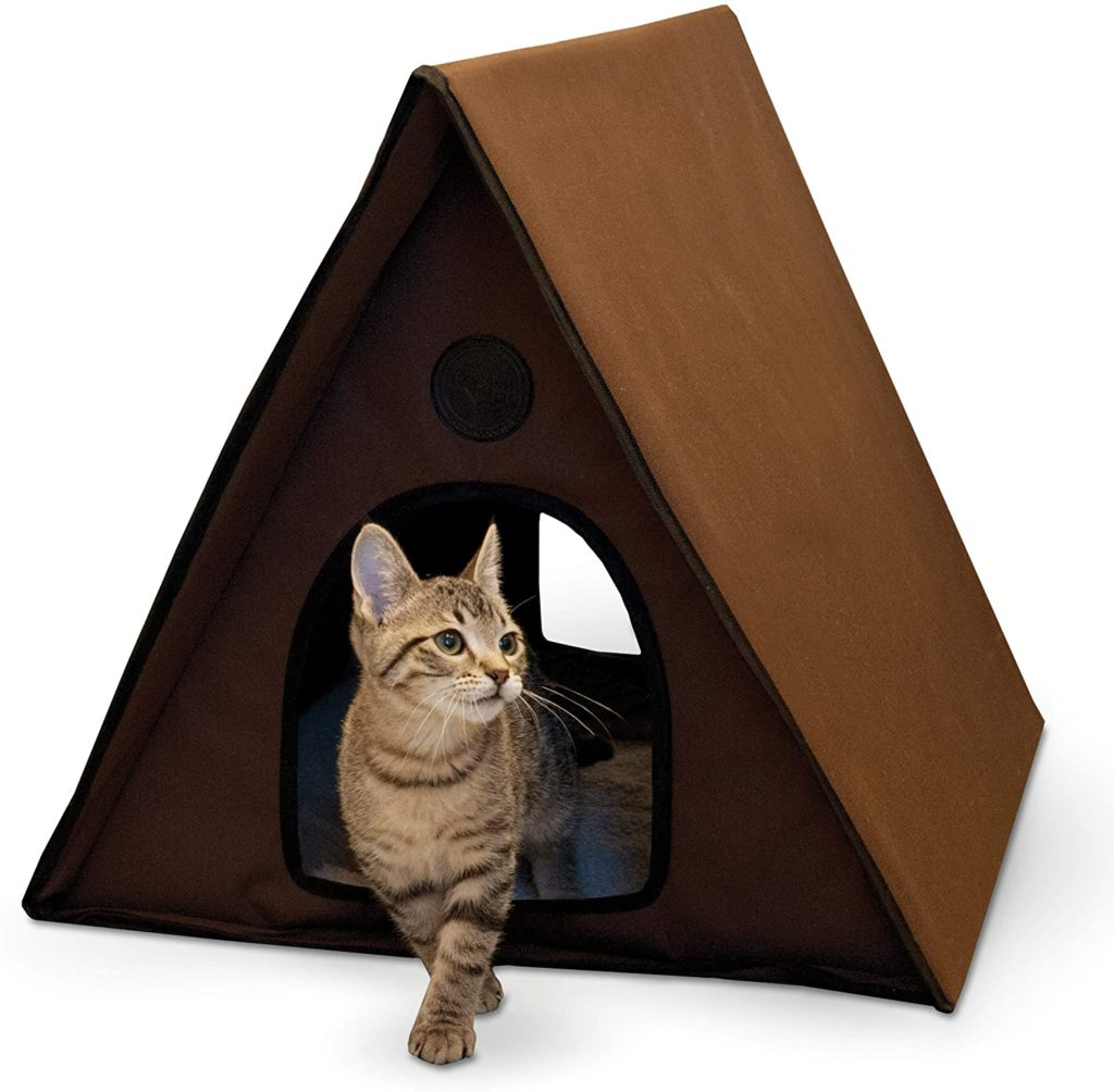 K&H Multi Kitty A-Frame Outdoor Cat House