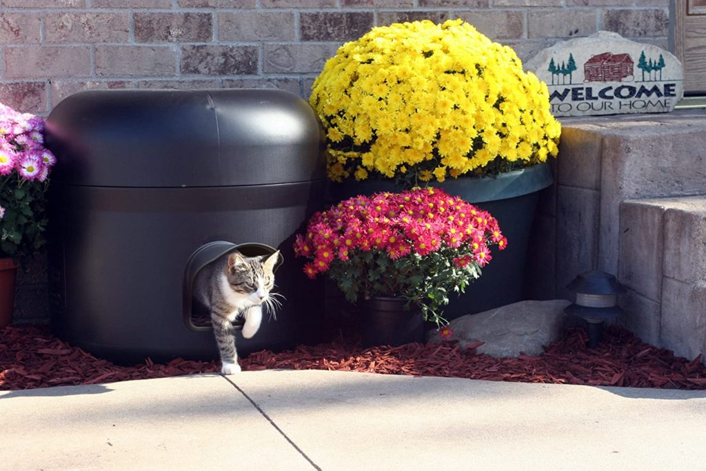 Kitty Tube Insulated Outdoor Cat Hosue