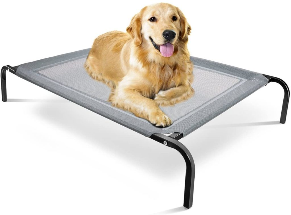 Paws & Pals Elevated Dog Travel Bed