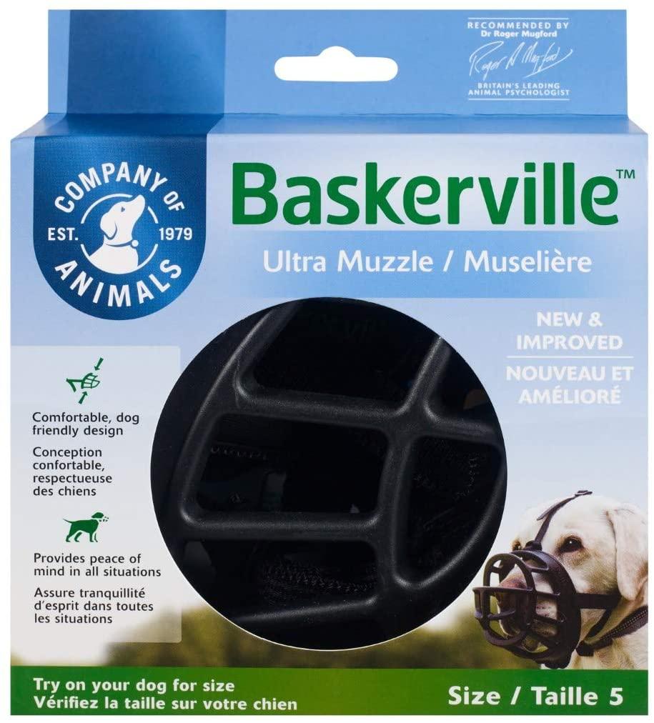 Company of Animals Baskerville Ultra Basket Dog Muzzle